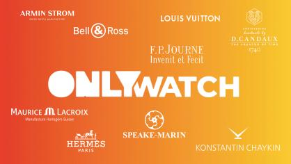 Sự thống trị của 'sắc cam' tại sự kiện đấu giá đồng hồ từ thiện Only Watch 2021