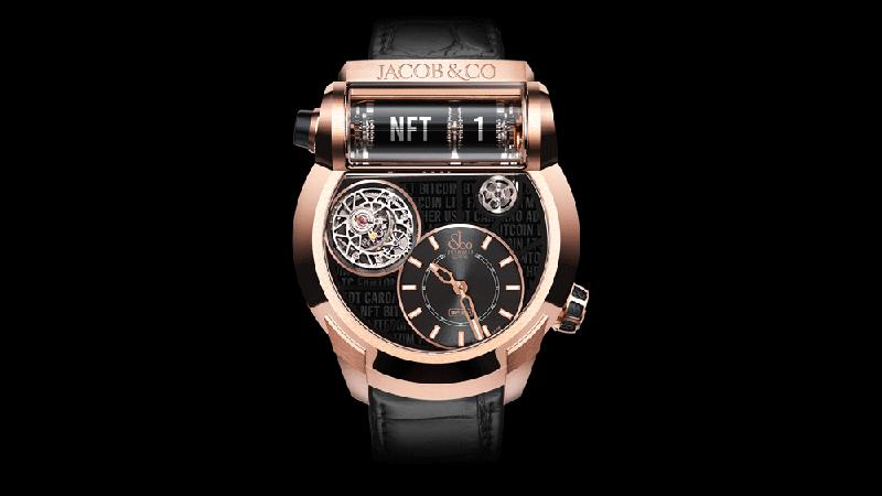 Jacob & Co. lần đầu tiên đấu giá mẫu đồng hồ NFT