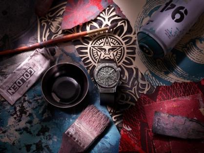 Hublot hợp tác với Shepard Fairey ra mắt chiếc đồng hồ mới nhất