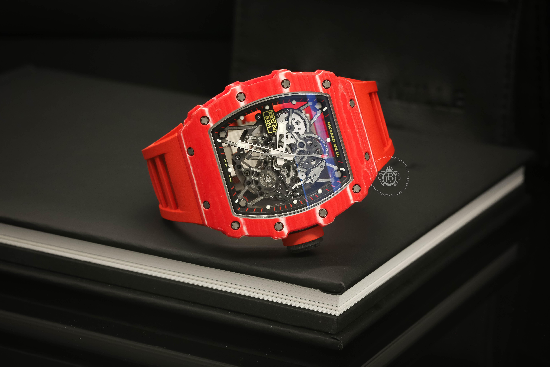 5 lý do khiến giới sưu tầm mê mẩn đồng hồ Richard Mille