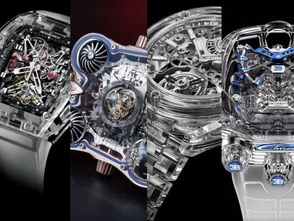 Chiêm ngưỡng những mẫu đồng hồ sapphire tinh xảo 'gây thương nhớ' hàng triệu tín đồ thời gian