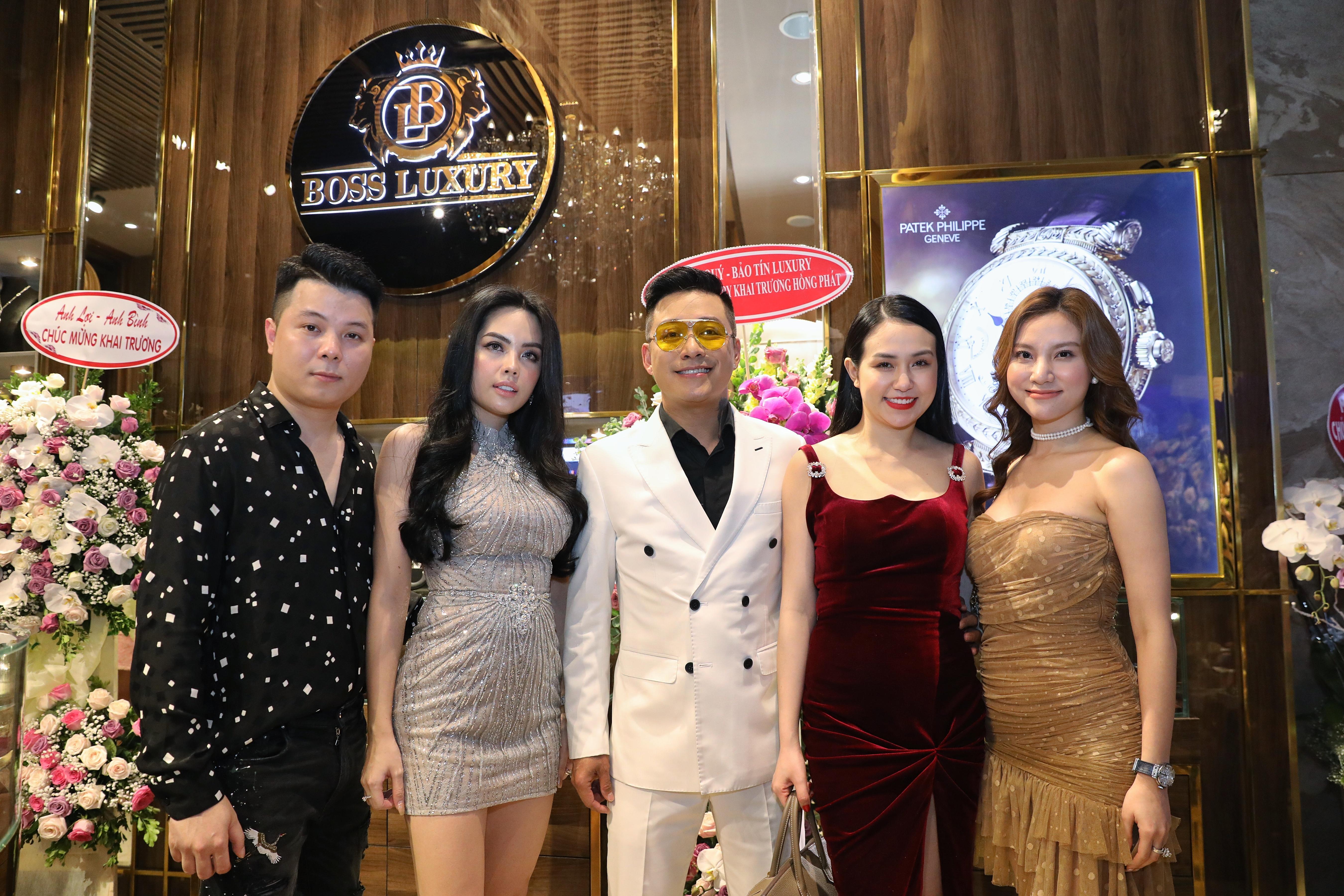 """Dàn khách mời """"khủng"""" xuất hiện trong ngày khai trương Boss Luxury cơ sở 2 tại thành phố Hồ Chí Minh"""