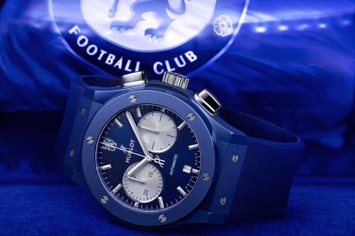 Hublot công bố mẫu đồng hồ mới hợp tác với Chelsea FC