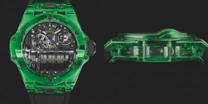 Hublot gia nhập những chân trời mới trong chế tạo đồng hồ với Big Bang MP-11 Green Saxem
