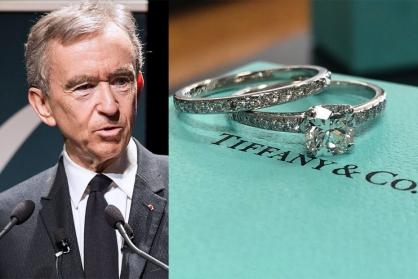Tập đoàn LVMH đạt được thỏa thuận mua Tiffany&Co với giá 16,2 tỷ USD
