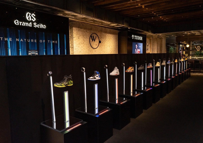 Triển lãm Sneaker Time: Sự kết hợp chưa từng có trong tiền lệ giữa đồng hồ cao cấp và sneaker
