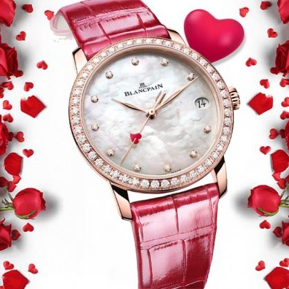 Blancpain giới thiệu chiếc đồng hồ phiên bản đặc biệt cho ngày lễ tình nhân năm 2021