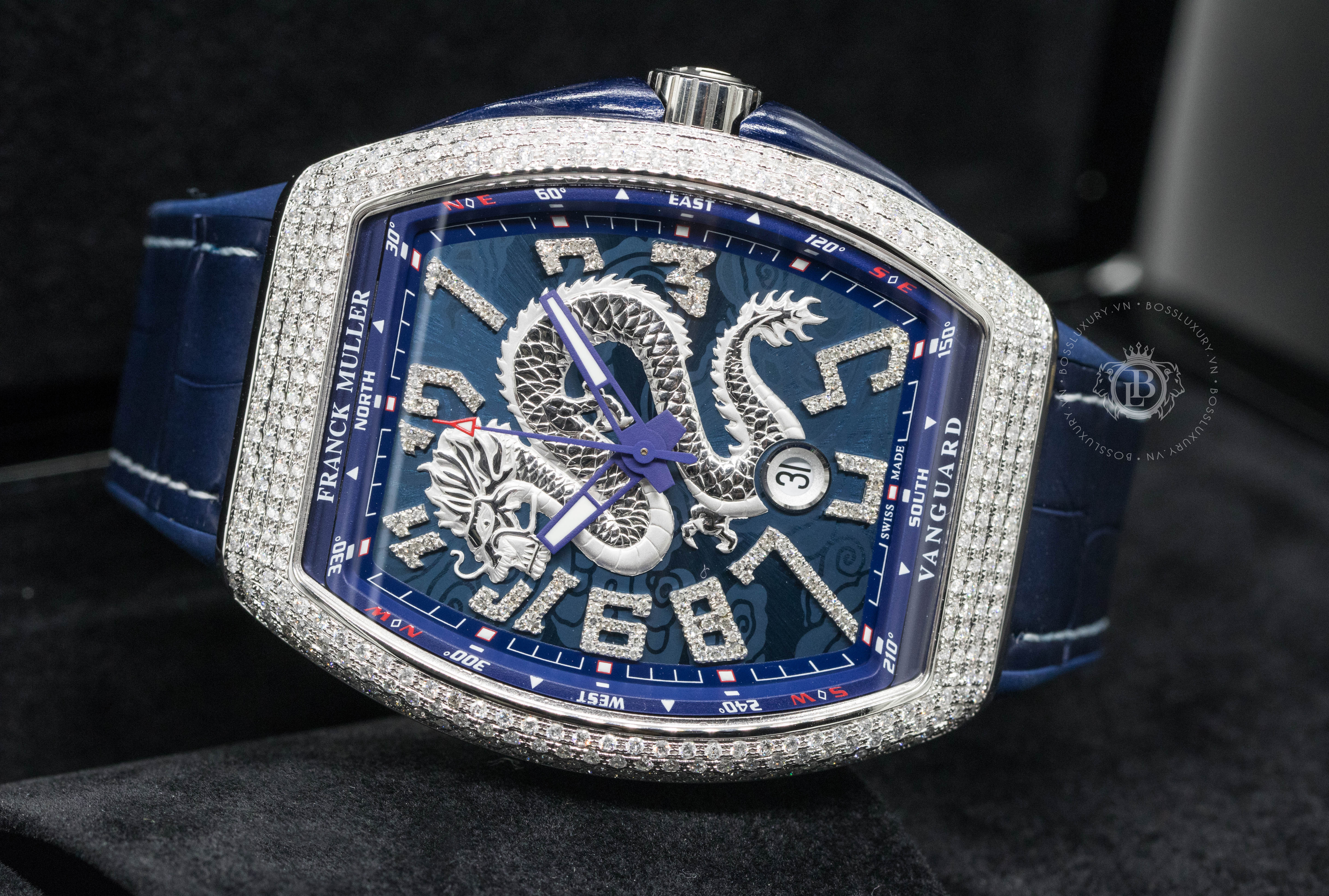 Top 5 mẫu dây đồng hồ Franck Muller được ưa chuộng nhất hiện nay