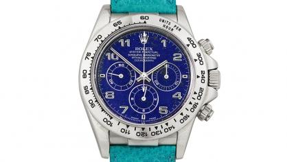 Đồng hồ Rolex Daytona cực hiếm lập kỉ lục đấu giá ở ngưỡng 3,27 triệu usd tại Sotheby's – Hong Kong