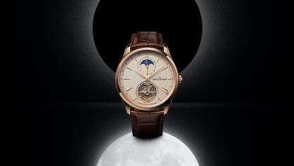 Giới thiệu đồng hồ Jaeger-LeCoultre Master Ultra Thin Tourbillon Moon mới: Một kiệt tác đối xứng