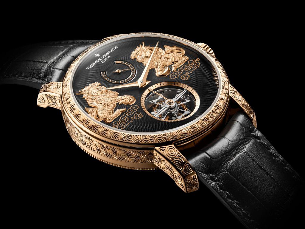 Giới thiệu đồng hồ Vacheron Constantin Traditionnnelle Tourbillon Qilin phiên bản kỳ lân sống động