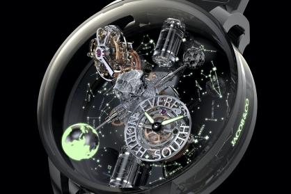 """Jacob & Co. giới thiệu đồng hồ """"Astronomia Everest"""" mới trị giá 884.800 usd - Tôn vinh vẻ đẹp và làm nổi bật những rủi ro mà Hành tinh Trái đất phải đối mặt"""