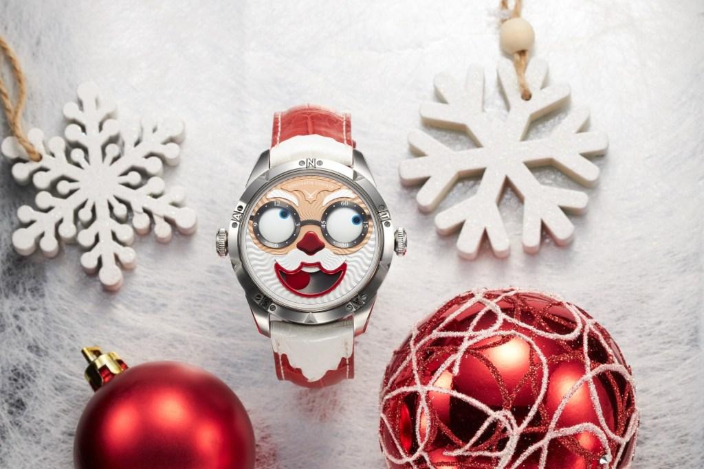 Khám phá 'Ông già Noel' vui tươi trên đồng hồ Konstantin Chaykin Santa 2021 Special Edition