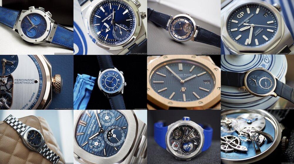 Mười hai chiếc đồng hồ màu xanh hấp dẫn nhất trong năm 2020