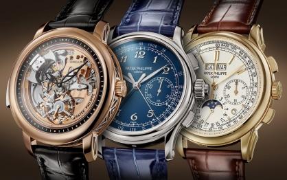 Patek Philippe ra mắt ba mẫu đồng hồ mới cùng lúc