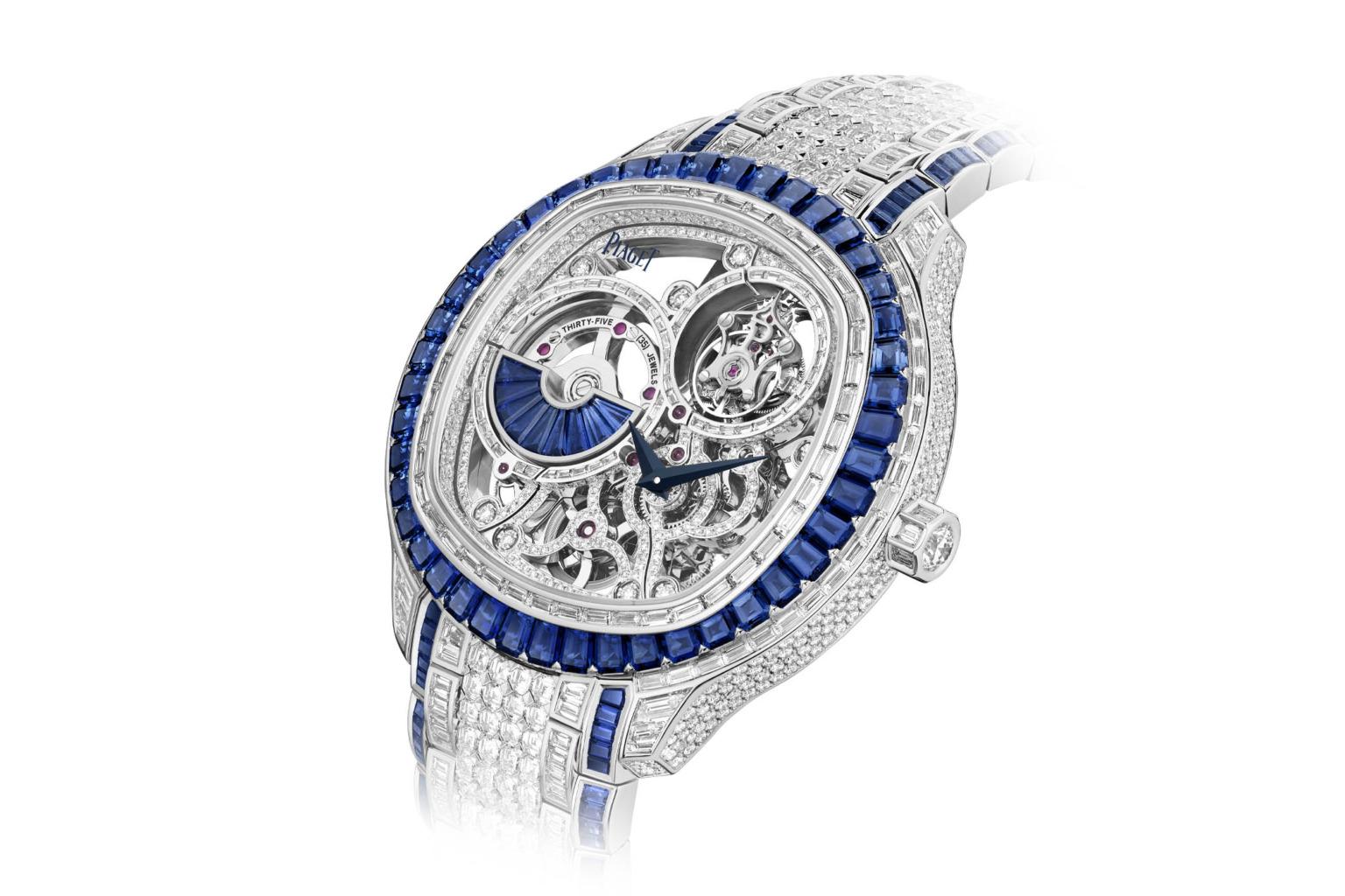 Piaget ra mắt 5 tuyệt phẩm đồng hồ trang sức Tourbillon Polo tuyệt đẹp