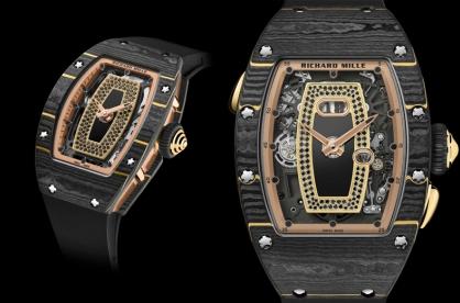 Richard Mille RM 07-01 và RM 037: Bộ đôi tuyệt tác cho phái đẹp cấp tiến