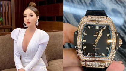 Sau mùa dịch, hoa hậu Kỳ Duyên liền tậu đồng hồ Hublot trị giá 36.000 usd