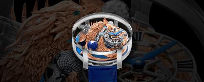 Siêu phẩm đồng hồ Jacob & Co. Astronomia Art Phoenix: Biểu tượng cho sự tái sinh và quyền lực