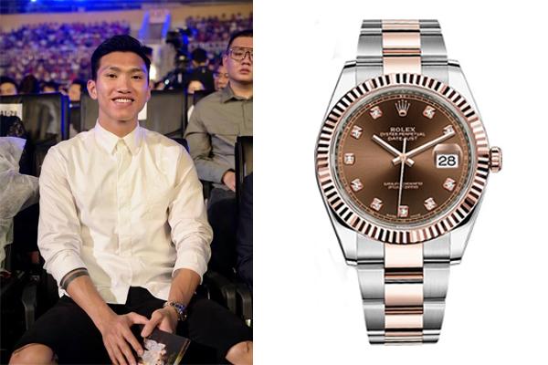 Soi chiếc đồng hồ Văn Hậu đeo trong chung kết Hoa hậu Việt Nam