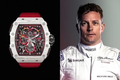 Richard Mille giới thiệu siêu phẩm triệu đô mới: RM 50-04 Tourbillon Split-Seconds Chronograph Kimi Räikkönen
