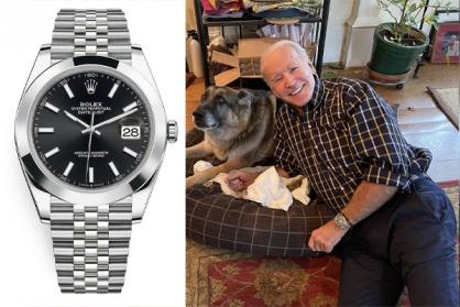 Tổng thống đắc cử Joe Biden đeo chiếc đồng hồ Datejust 41mm của Rolex?