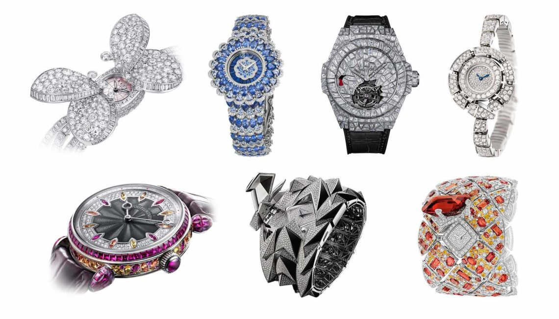 Top 7 tuyệt tác đồng hồ đính kim cương quyến rũ nhất mọi thời đại