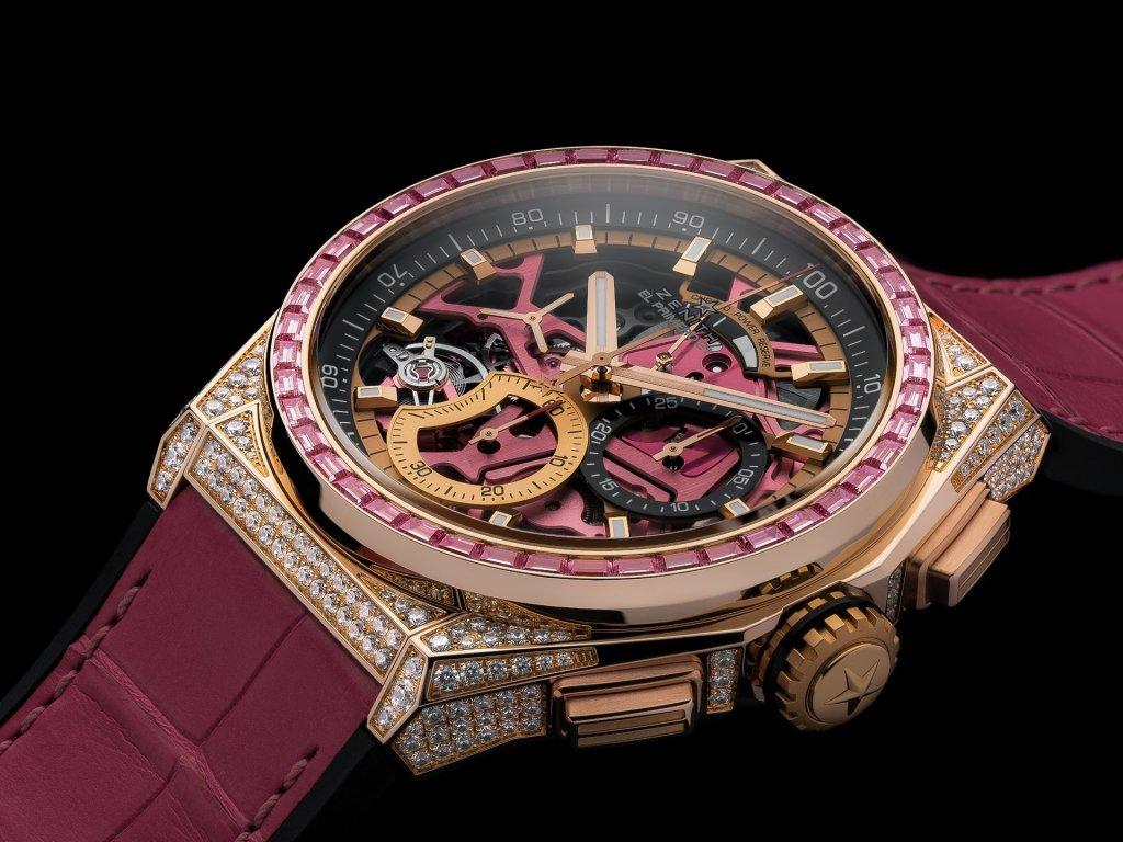 Zenith Defy El Primero 21 Pink Edition: Màu hồng cho mùa hè, màu hồng của hy vọng