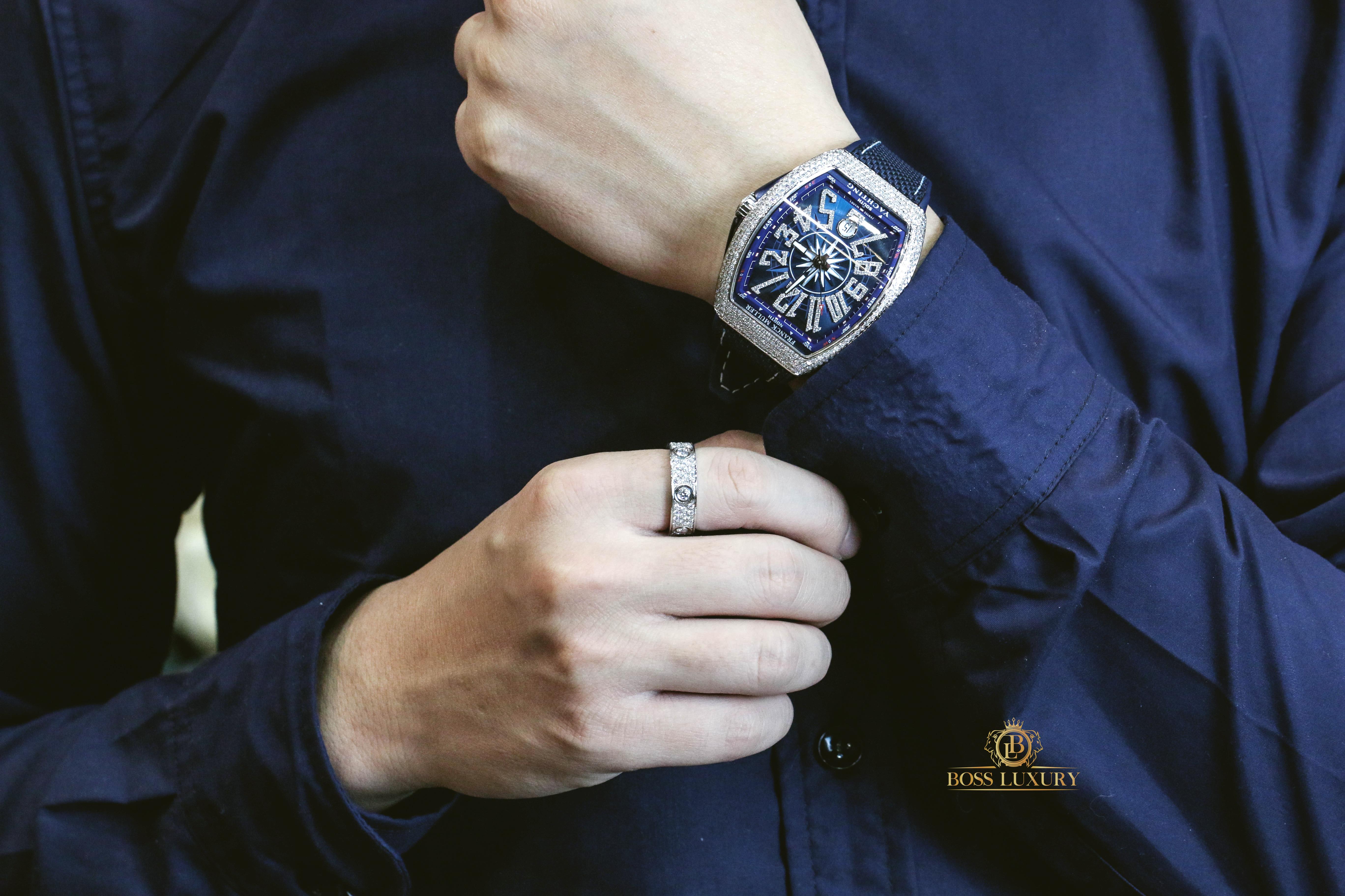 Review đồng hồ Franck Muller Vanguard Yachting V41