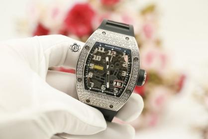 Review đồng hồ Richard Mille RM 029 chế tác kim cương giá gần 3 tỉ đồng