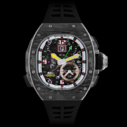 Chinh phục cả vũ trụ với siêu phẩm Richard Mille RM 62-01 Tourbillon Vibrating Alarm ACJ