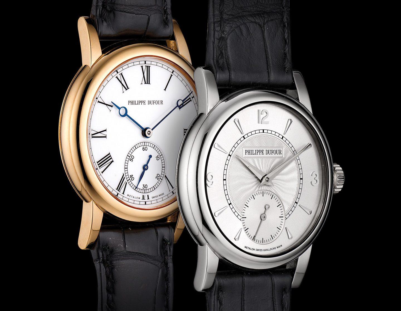 Bộ ba chiếc đồng hồ Philippe Dufour Simplicitys trong phiên đấu giá ấn tượng