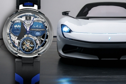Bovet 1822 ra mắt đồng hồ mới trị giá 310.000 đô la để ghép nối với chiếc Pininfarina Battista trị giá 2 triệu đô la của bạn