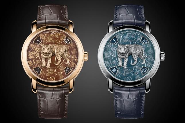 """Vacheron Constantin chuẩn bị cho """"Năm Dần"""" với chiếc đồng hồ mới Métiers d'Art The Legend of the Chinese Zodiac """"Year of the Tiger"""""""