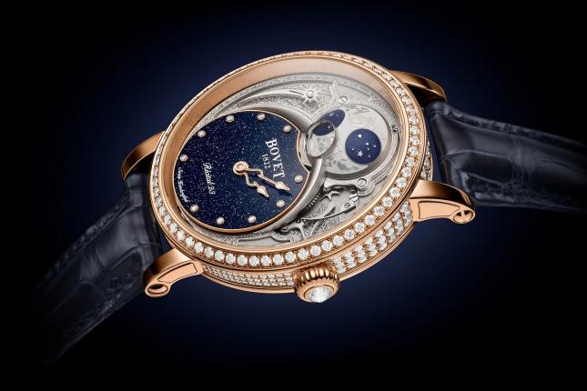 Xao xuyến trước vẻ đẹp đến nao lòng của 5 mẫu đồng hồ Moonphase mà mọi quý cô đều yêu thích