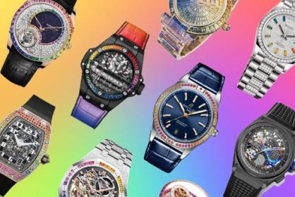 10 mẫu đồng hồ cầu vồng tuyệt đẹp khiến ai cũng phải xiêu lòng
