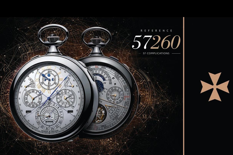 Top 5 chiếc đồng hồ bỏ túi phức tạp nhất của Vacheron Constantin
