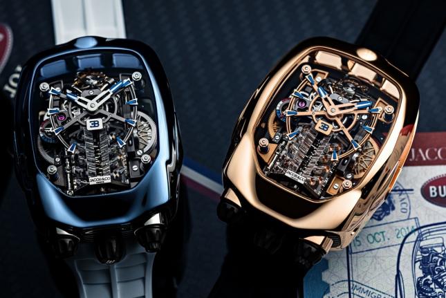 Cận cảnh siêu phẩm thời gian Bugatti Chiron Tourbillon của Jacob & Co.