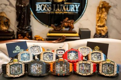 Điểm mặt 14 siêu phẩm Richard Mille đã có mặt tại Boss Luxury trong 5 tháng đầu năm 2021