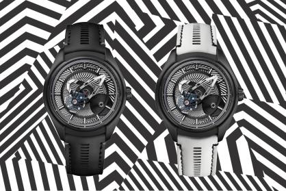 Ulysse Nardin thôi miên thị giác người nhìn với chiếc đồng hồ 'Freak X Razzle Dazzle' phiên bản giới hạn mới