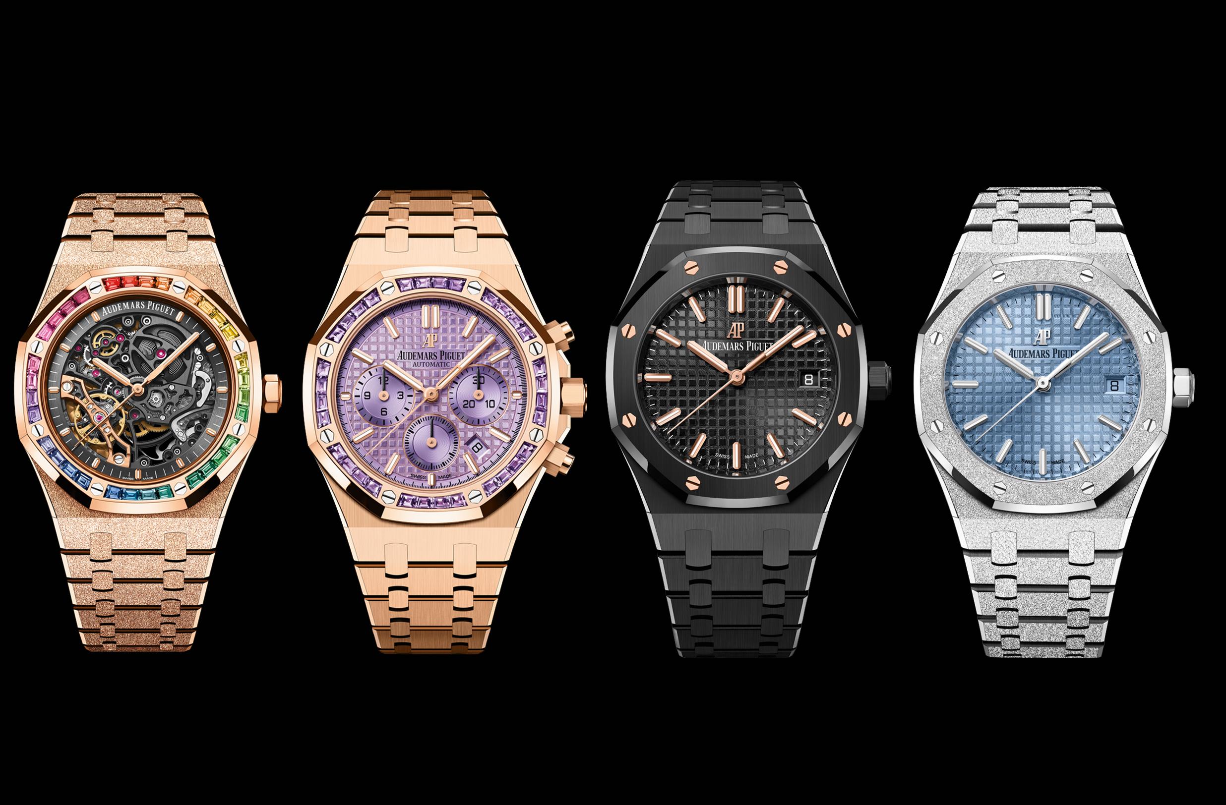 Audemars Piguet khuấy động mùa hè với sự ra mắt 4 mẫu đồng hồ mới dành cho phái đẹp