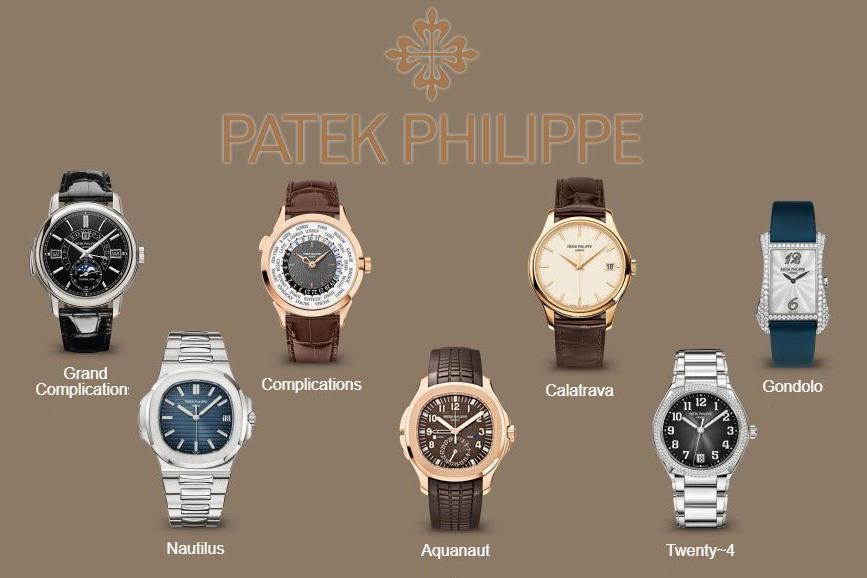 Tìm hiểu về các bộ sưu tập đồng hồ của Patek Philippe