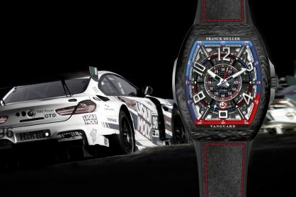 Franck Muller cho ra mắt đồng hồ mới vinh danh tay đua người Mỹ Bill Auberlen
