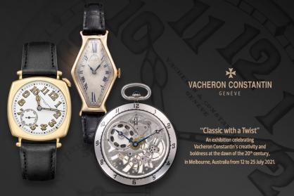 Vacheron Constantin tôn vinh sự sáng tạo và sự táo bạo của thương hiệu qua triển lãm đồng hồ tại Melbourne
