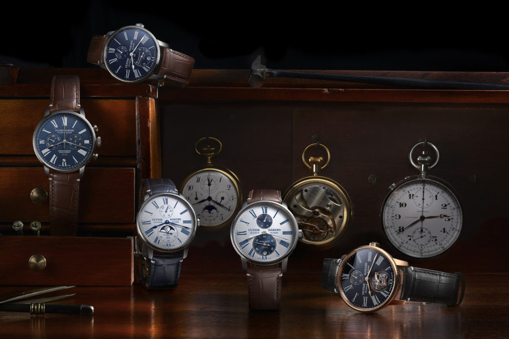 Kỷ niệm 175 năm, Ulysse Nardin mở rộng bộ sưu tập Marine Torpilleur với 7 mẫu đồng hồ mới