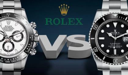 Rolex Daytona hay Submariner: Lựa chọn nào tốt hơn?