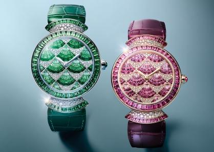 Bulgari du hành ngược thời gian với những chiếc đồng hồ nữ mới trong Geneva Watch Days