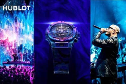 Hublot bắt tay hợp tác với nghệ sĩ người Pháp DJ Snake cho ra mắt đồng hồ độc quyền mới Big Bang DJ Snake