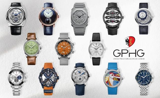 Danh sách các ứng viên lọt vào vòng chung kết Grand Prix d'Horlogerie de Genève năm 2021 (GPHG)
