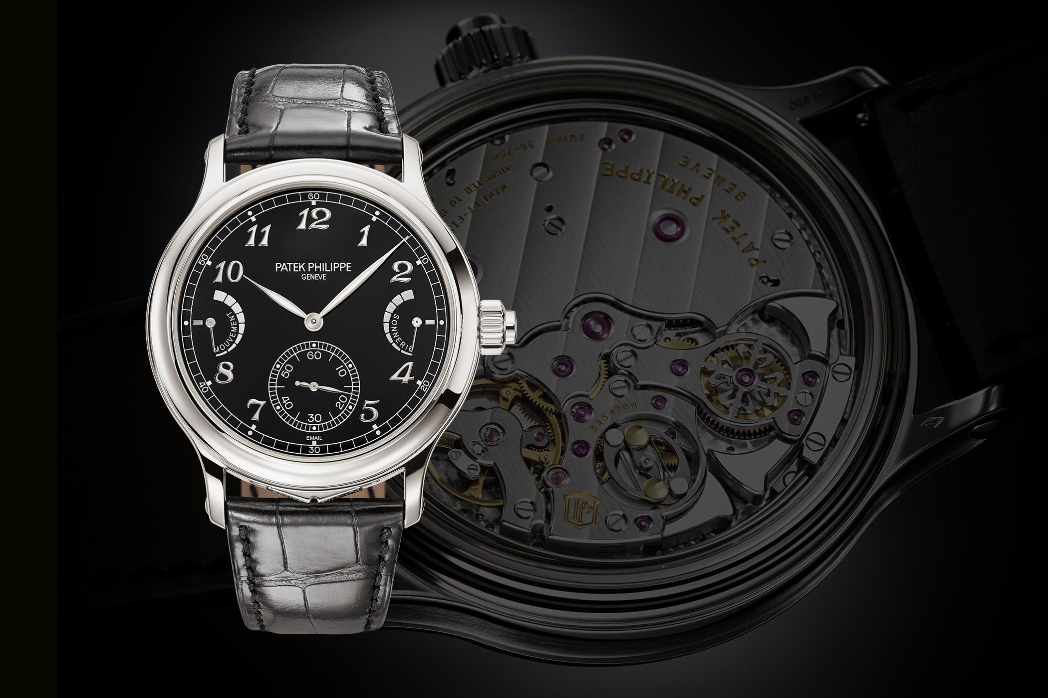 """Patek Philippe vừa ra mắt đồng hồ mới """"Grande Sonnerie Reference 6301P"""" với chức năng điểm chuông ngoạn mục"""